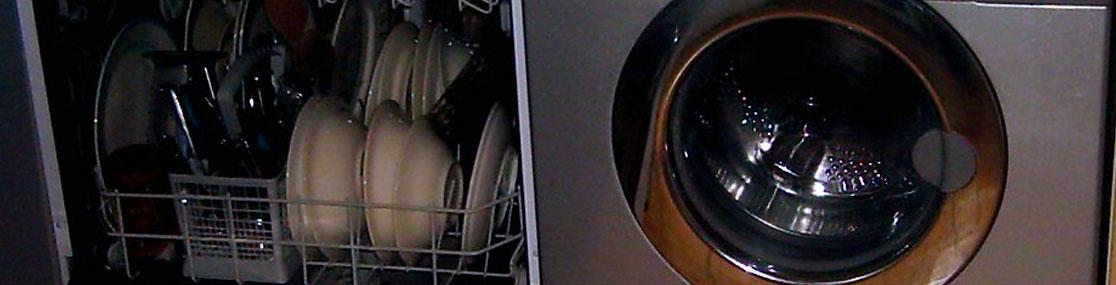 Water-Saving Dishwasher and Washing Machine