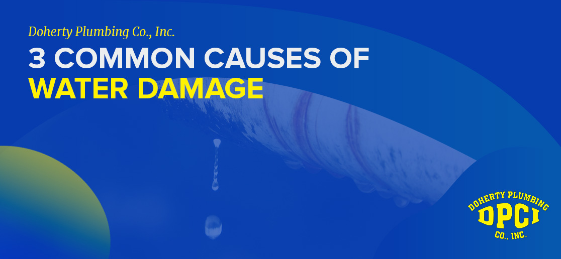 3 Common Causes of Water Damage 1