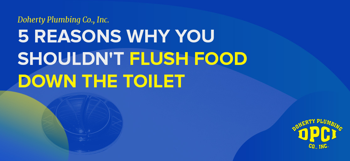Flushing Food Down the Toilet