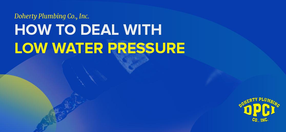 Low Water Pressure Plumbing Problems