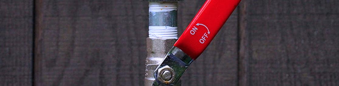 Shutoff Water Valve Plumbing