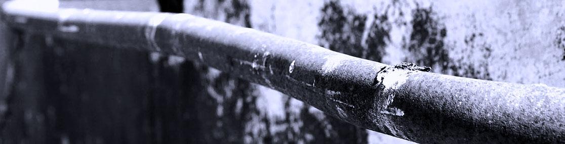 Damaged Pipes Plumbing