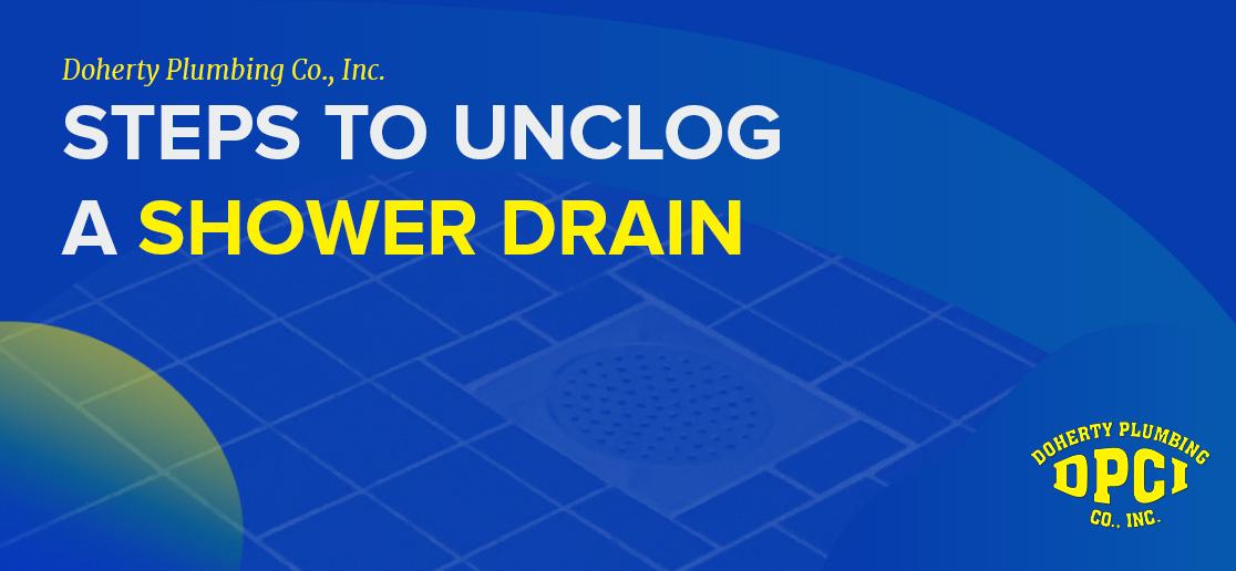 Shower Drain Blockage