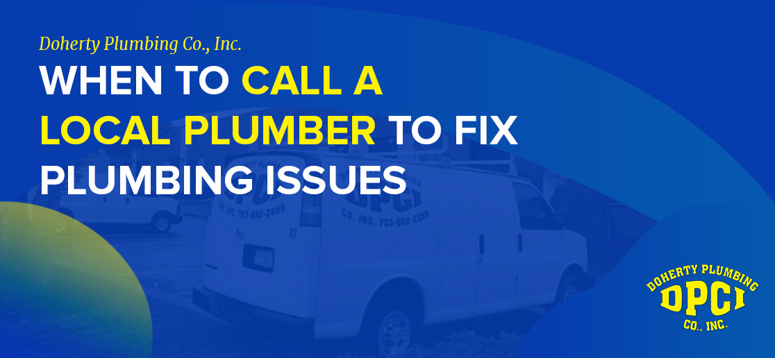 When To Call A Local Plumber To Fix Plumbing Issues 1