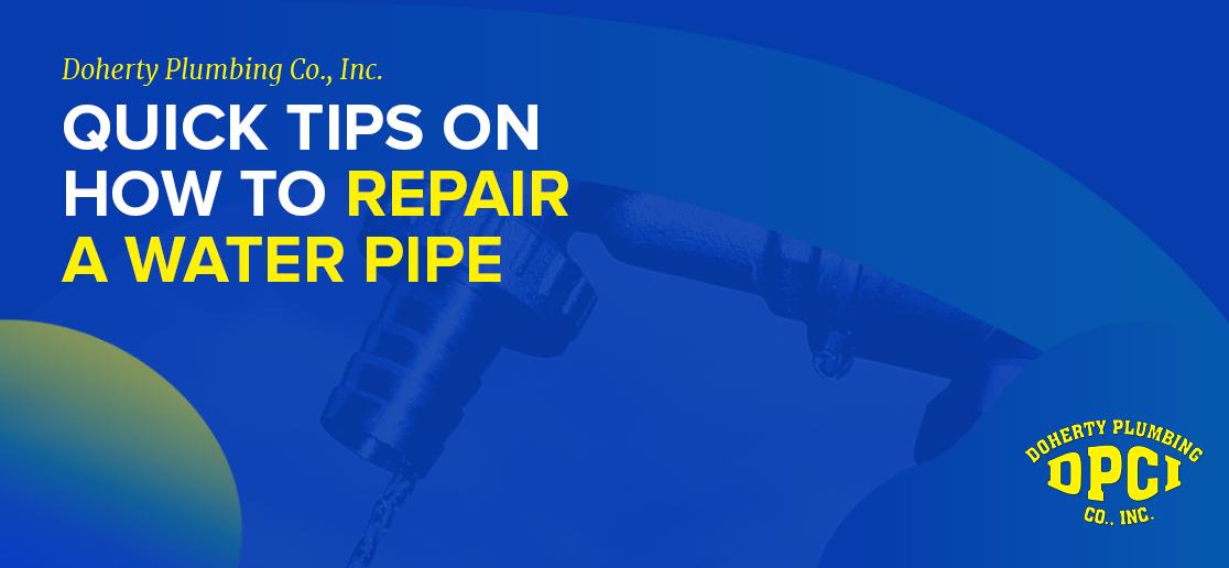 Water Pipe Repair Chantilly